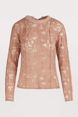 Chloé lace T-shirt