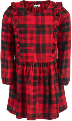 Epic Threads Little Girls Ruffle-Trim Plaid Dress
