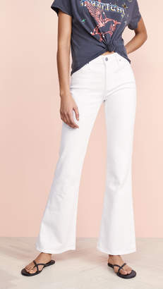 AG Jeans The Quinne High Rise Flare Jeans