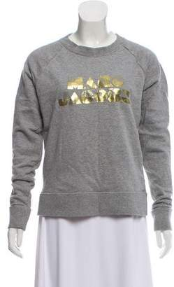 Marc Jacobs Logo-Accented Crew Neck Sweatshirt