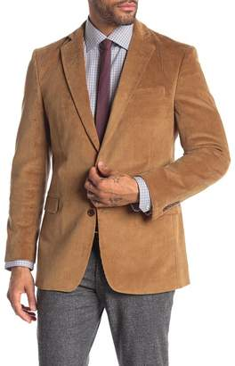 Brooks Brothers Classic Fit Two Button Corduroy Sport Jacket