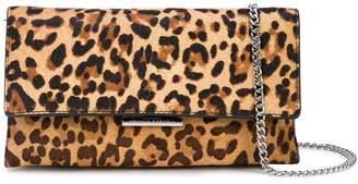 Loeffler Randall leopard print clutch