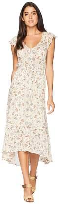 Lucky Brand Felice Floral Dress Women's Dress