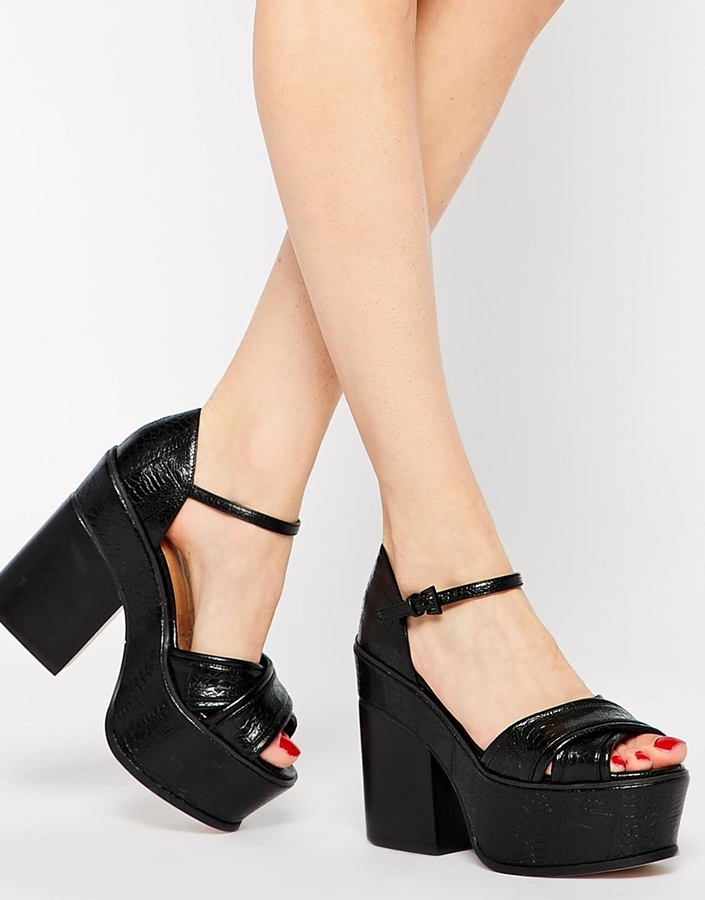 Asos HEAD GIRL Heeled Sandals