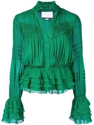 Alexis Eleni ruffled blouse