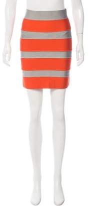 Proenza Schouler ColorBlock Mini Skirt w/ Tags