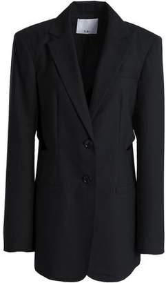Tibi Cutout Wool Blazer