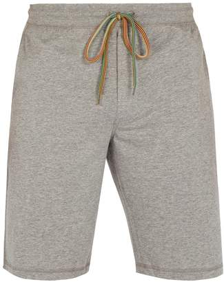 Paul Smith Mid-rise cotton-jersey track shorts