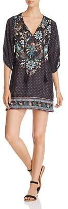Tolani Embroidered Tunic Dress