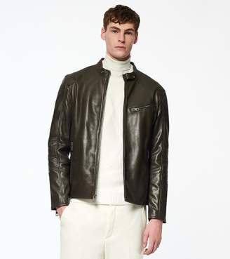 Andrew Marc WESTON LEATHER MOTO JACKET