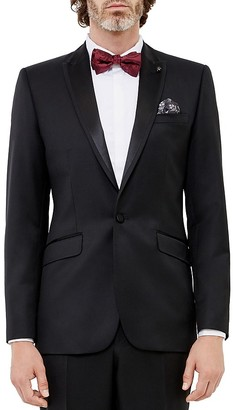 Ted Baker Maurjac Regular Fit Tuxedo Jacket $745 thestylecure.com