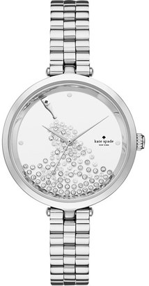 Women's Kate Spade New York Holland Crystal Dial Bracelet Watch, 34Mm $250 thestylecure.com