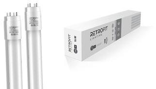 Retrofit Lighting 18W LED Tube Light Bulb Frosted Lighting