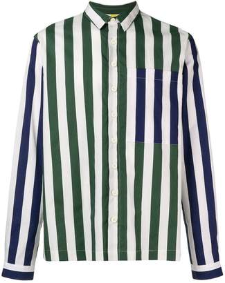 Sunnei multi-stripe shirt