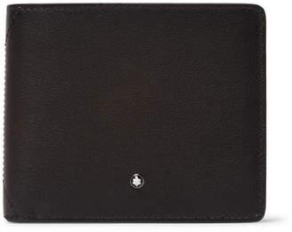 Montblanc Full-grain Leather Billfold Wallet - Gray