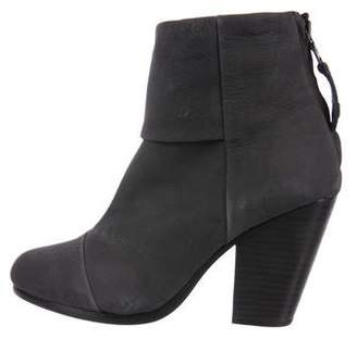 Rag & Bone Newbury Round-Toe Ankle Boots