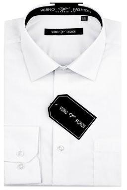 Verno Big Men's Classic Fashion Fit Dress Shirt
