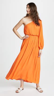 Mara Hoffman Orange Vera Dress