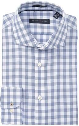 f9d4d3b2f Tommy Hilfiger Slim Fit No-Iron Check Print Dress Shirt