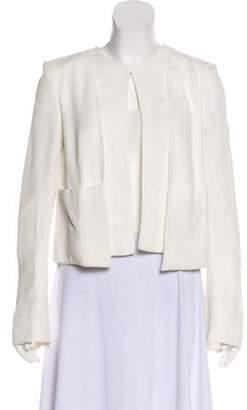 Derek Lam Bell Sleeve Crepe Jacket