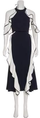 Jonathan Simkhai Cutout Maxi Dress