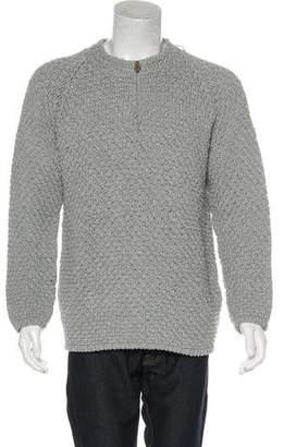 Hermes Knit Half-Zip Sweater