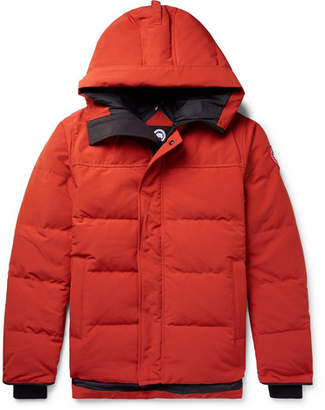 Canada Goose Macmillan Quilted Shell Hooded Down Parka - Men - Orange