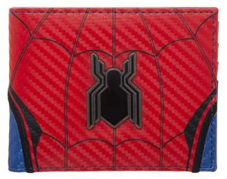 Spiderman Faux Leather Wallet with 3D Metal Badge Logo