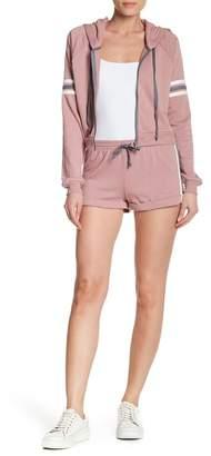Socialite Striped Utility Shorts