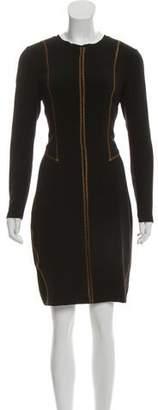 Rag & Bone Long Sleeve Knee-Length Dress