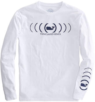 Vineyard Vines Long-Sleeve Whale Signal T-Shirt
