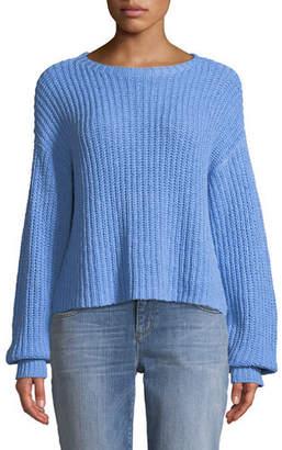 Eileen Fisher Organic Cotton Drop-Sleeve Sweater