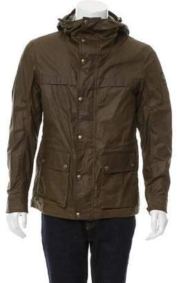Belstaff Waxed Cotton Hooded Jacket
