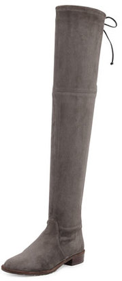 Stuart Weitzman Lowland Suede Over-The-Knee Boot, Londra $798 thestylecure.com