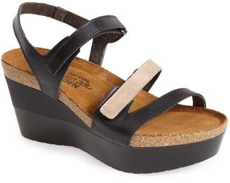 Naot Footwear 'Canaan' Wedge Sandal