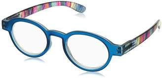Peepers Unisex-Adult Bright Eyed 406200 Round Reading Glasses