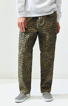 Obey Leopard Hardwork Carpenter Pants
