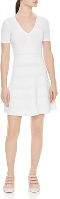 Sandro Milau Textured Dress $295 thestylecure.com