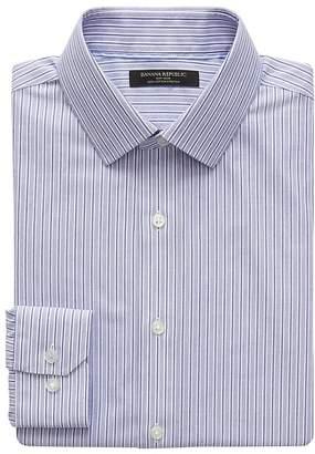 Banana Republic Grant Slim-Fit Non-Iron Stripe Shirt