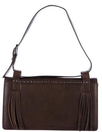 Giorgio Armani Studded Fringe Shoulder Bag