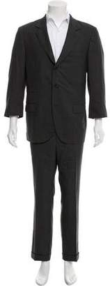 Brunello Cucinelli Three-Button Wool Suit