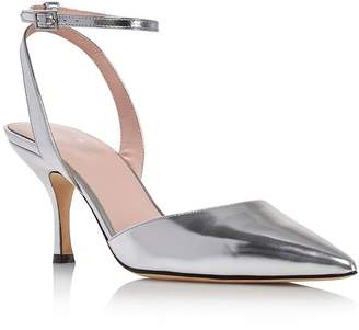2b55f20b659b Kate Spade Women s Simone Pointed Toe Ankle-Strap Leather Pumps