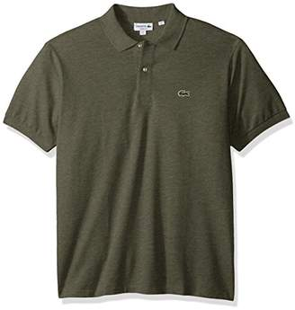 Lacoste Men's Short Sleeve Classic Fit Chine Pique Polo Shirt