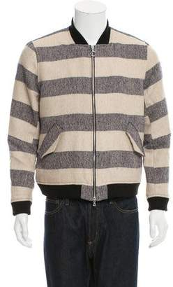 Timo Weiland Striped Bomber Jacket w/ Tags
