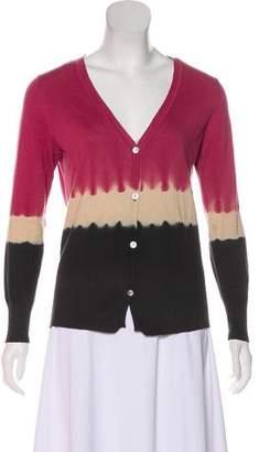 Etoile Isabel Marant Long Sleeve Tie-Dye Cardigan