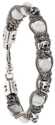 Emanuele Bicocchi Skull Bead bracelet