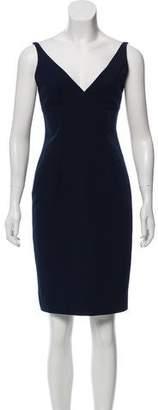 Milly V-Neck Mini Dress