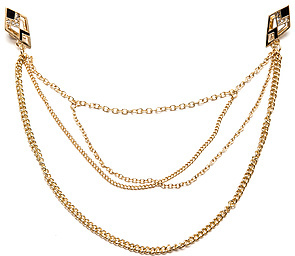 *MKL Accessories The Collar Tips Chain Necklace