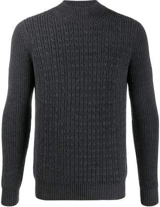 Altea gauge 5 detail knit jumper