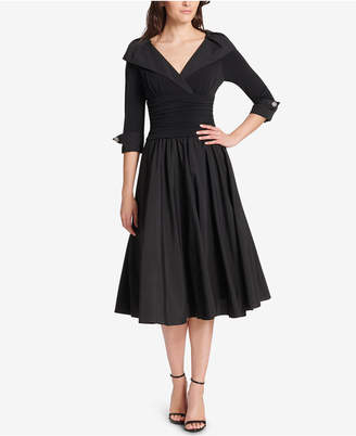 99d67ee9dc7 ... Jessica Howard Petite Portrait-Collar Fit   Flare Dress